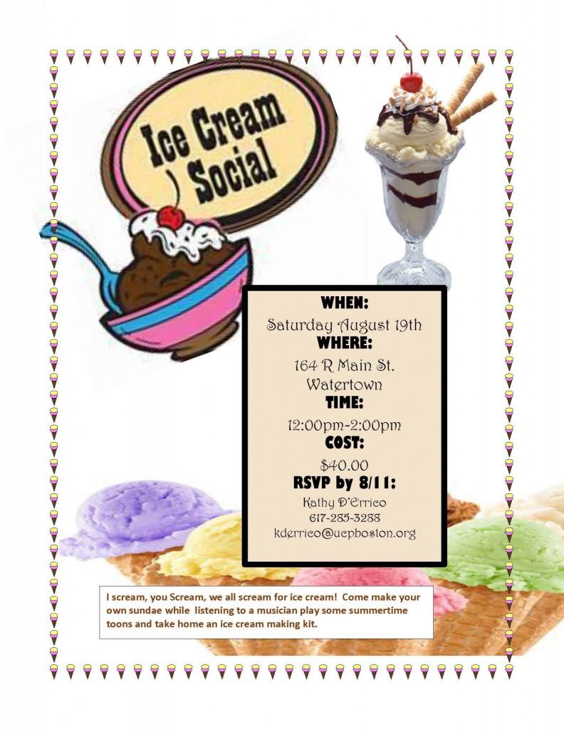 Ice Cream Social Aug17