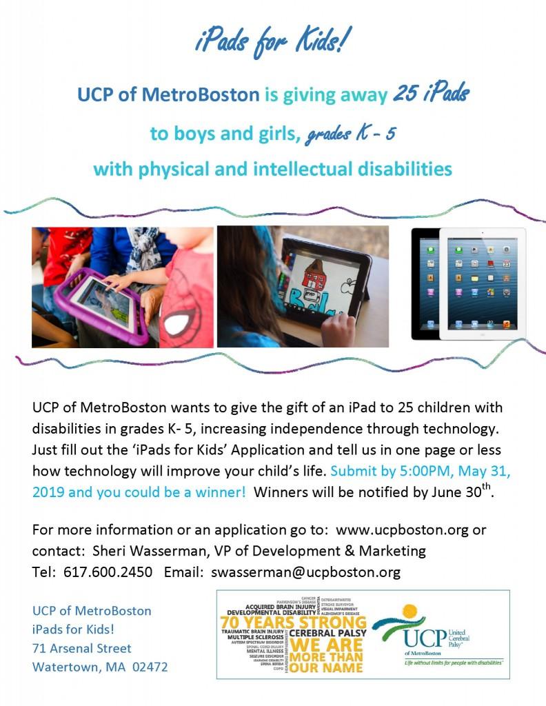 iPad Give-Away